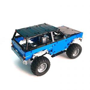 Mocbrickland Moc 15217 Trial Contest Truck (3)