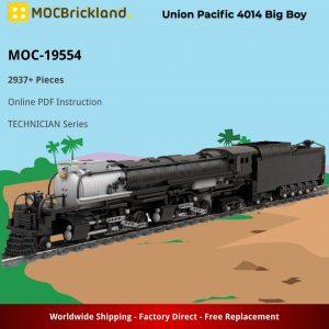 Mocbrickland Moc 19554 Union Pacific 4014 Big Boy (2)
