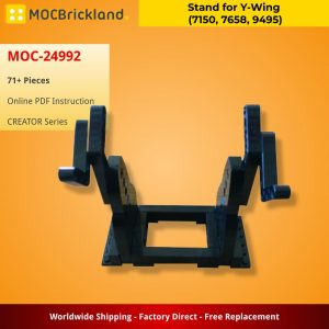 Mocbrickland Moc 24992 Stand For Y Wing (7150, 7658, 9495) (2)