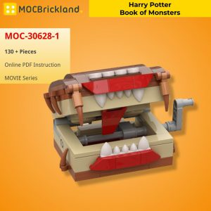Mocbrickland Moc 30628 1 Harry Potter Book Of Monsters (2)