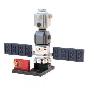 Mocbrickland Moc 36418 182 Shenzhou Spacecraft (1)