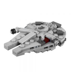 Mocbrickland Moc 36420 Millennium Falcon (1)
