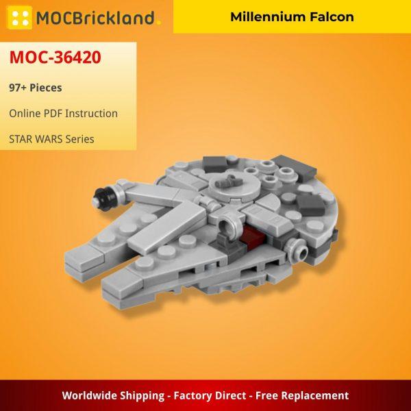 Mocbrickland Moc 36420 Millennium Falcon (2)