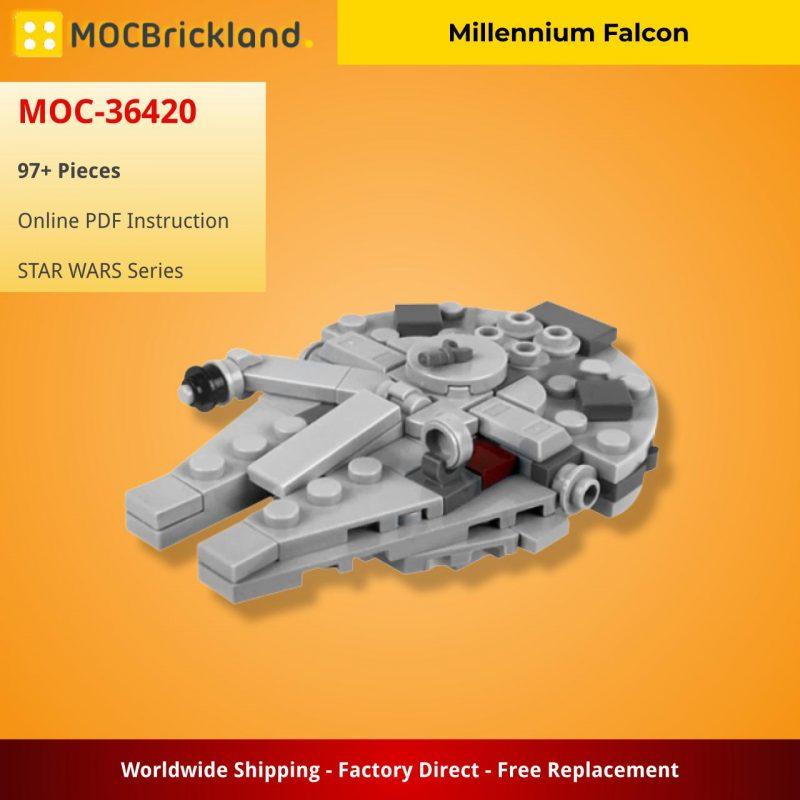 MOCBRICKLAND MOC-36420 Millennium Falcon