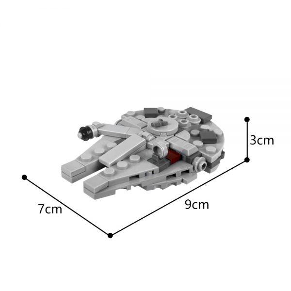 Mocbrickland Moc 36420 Millennium Falcon (3)