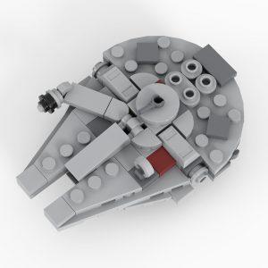 Mocbrickland Moc 36420 Millennium Falcon (5)