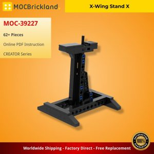 Mocbrickland Moc 39227 X Wing Stand X (2)