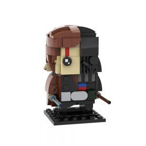 Mocbrickland Moc 40622 Vader Anakin Skywalker Brickheadz (1)