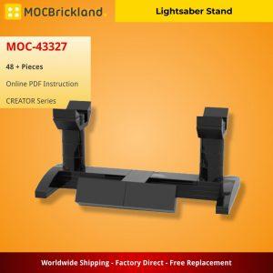 Mocbrickland Moc 43327 Lightsaber Stand (1)