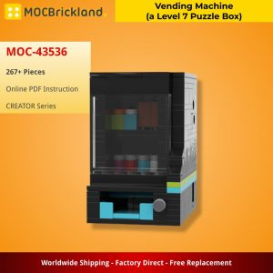 Mocbrickland Moc 43536 Vending Machine (a Level 7 Puzzle Box) By Cheat3 Puzzles (2)