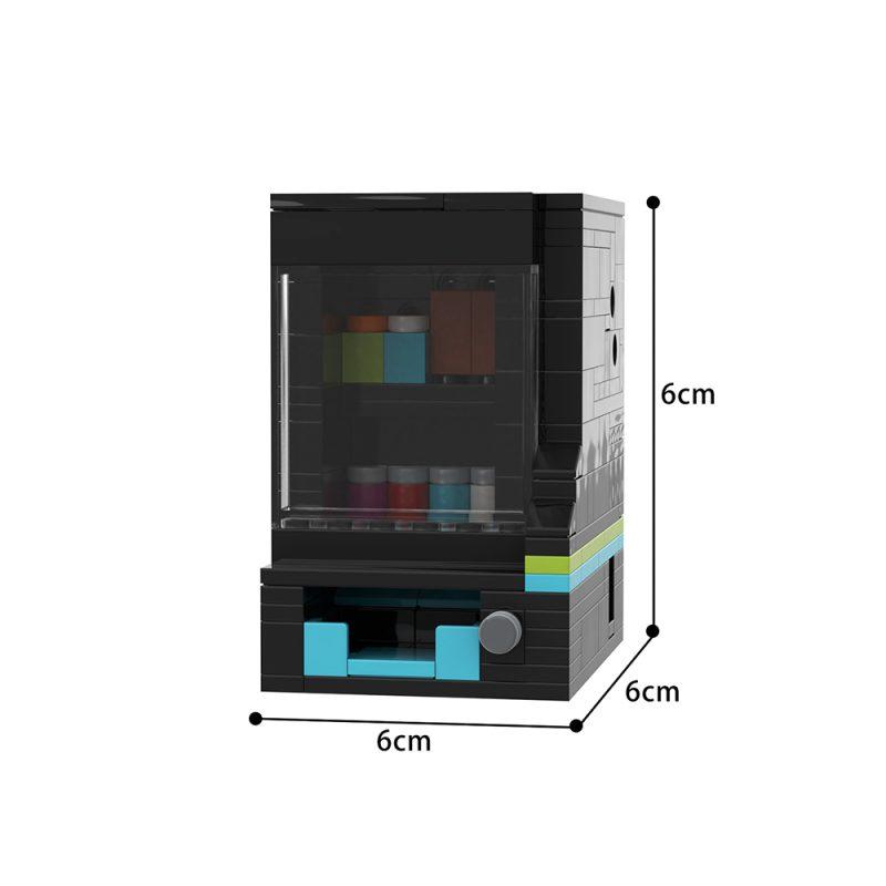 MOCBRICKLAND MOC-43536 Vending Machine (a Level 7 Puzzle Box)
