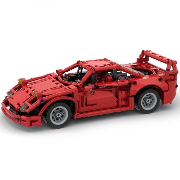 Mocbrickland Moc 43883 Ferrari F40 (1)