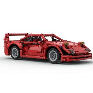 Mocbrickland Moc 43883 Ferrari F40 (7)