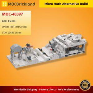 Mocbrickland Moc 46597 Micro Hoth Alternative Build (2)