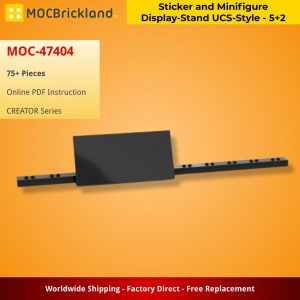 Mocbrickland Moc 47404 Sticker And Minifigure Display Stand Ucs Style – 5+2 (2)