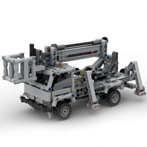 Mocbrickland Moc 51575 Cherry Picker Truck (1)