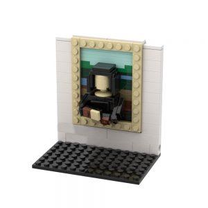 Mocbrickland Moc 51664 3d Mini Masterpiece The Mona Lisa (1)