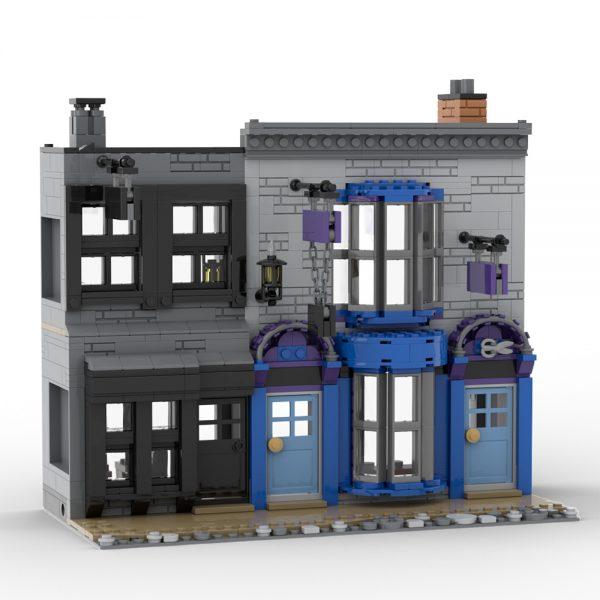 Mocbrickland Moc 53216 Madame Malkins & Potage's Cauldron Shop (diagon Alley) (6)