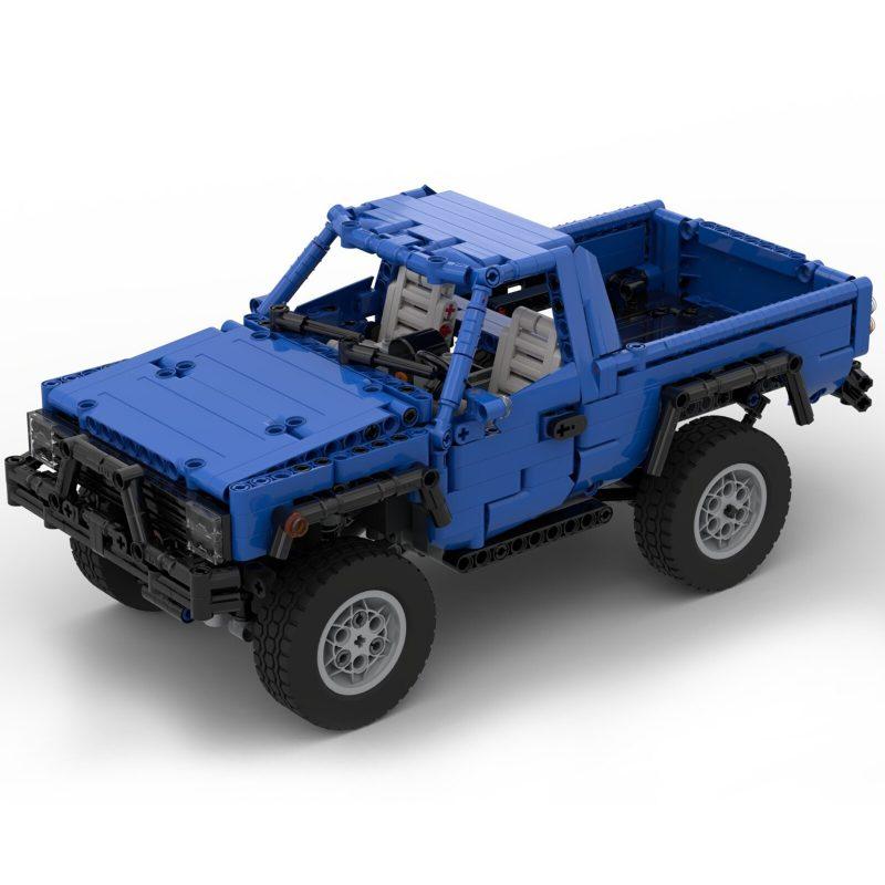 MOCBRICKLAND MOC-56024 Trophy Trial Truck