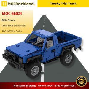 Mocbrickland Moc 56024 Trophy Trial Truck (2)