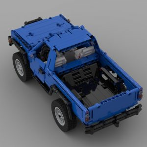 Mocbrickland Moc 56024 Trophy Trial Truck (5)