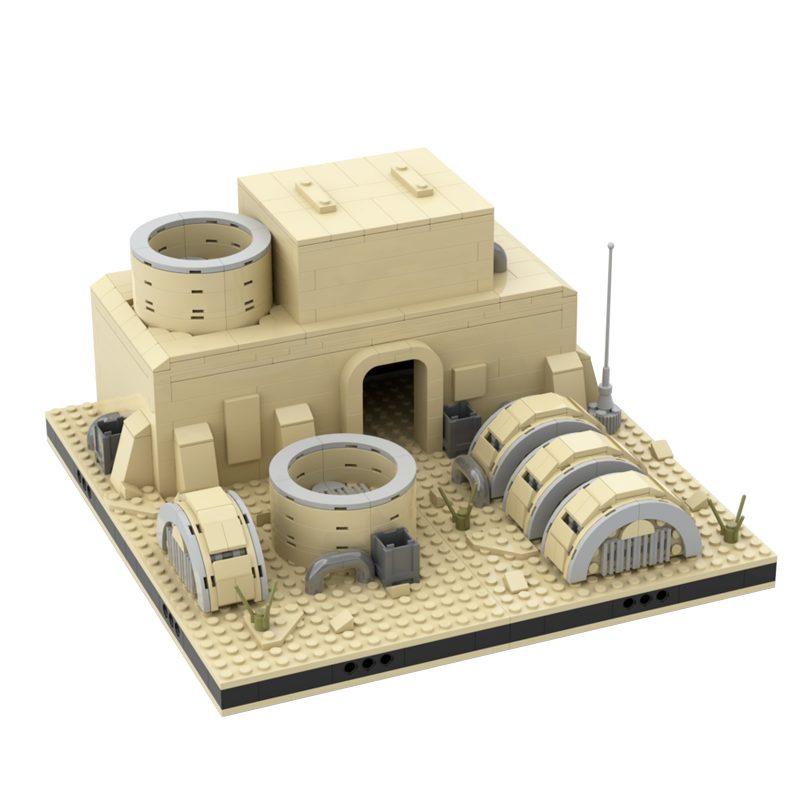 MOCBRICKLAND MOC-56069 Desert Power Plant #11 for a Modular Tatooine