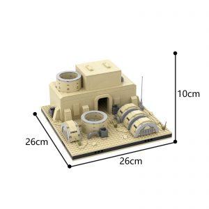 Mocbrickland Moc 56069 Desert Power Plant #11 For A Modular Tatooine (3)