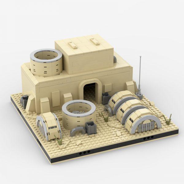 Mocbrickland Moc 56069 Desert Power Plant #11 For A Modular Tatooine (4)
