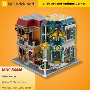Mocbrickland Moc 56446 Birch Art And Antique Corner (2)