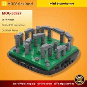 Mocbrickland Moc 56927 Mini Stonehenge (2)