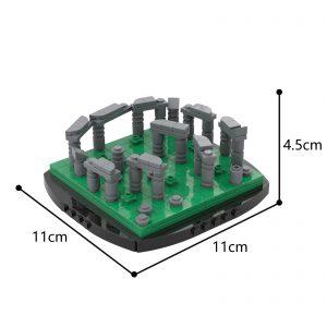Mocbrickland Moc 56927 Mini Stonehenge (3)