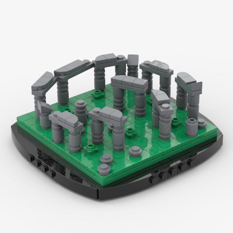 MOCBRICKLAND MOC-56927 Mini Stonehenge