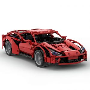 Mocbrickland Moc 58958 Ferrari F8 Tributo (1)