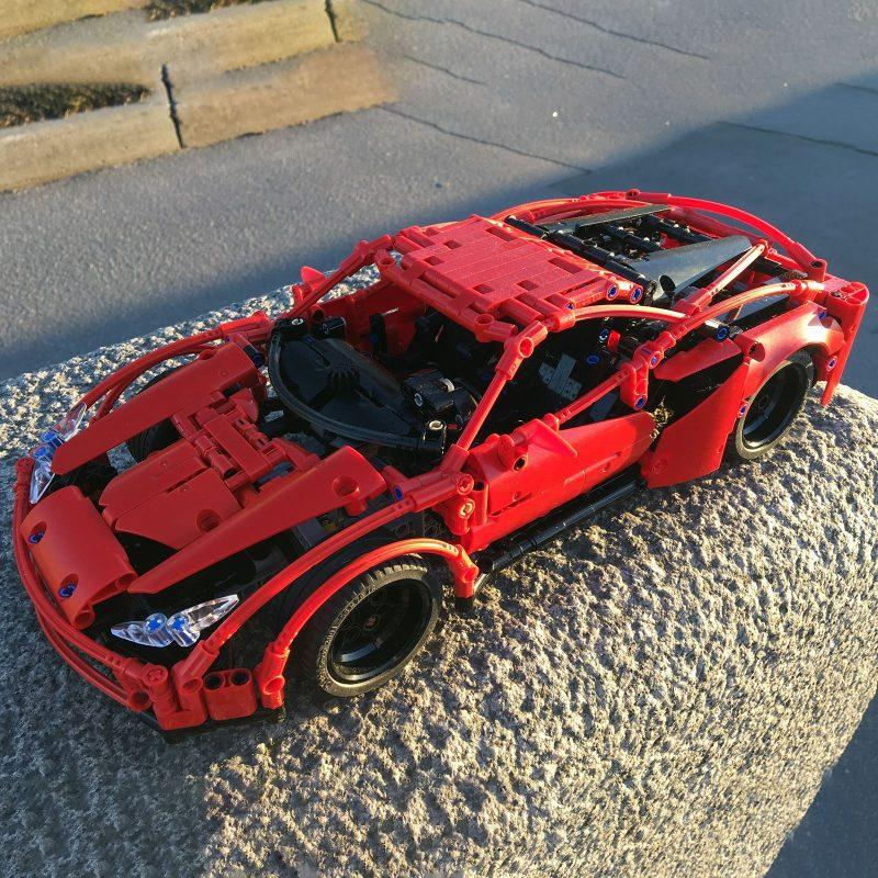 MOCBRICKLAND MOC-58958 Ferrari F8 Tributo