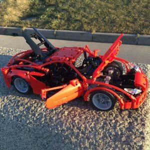 Mocbrickland Moc 58958 Ferrari F8 Tributo (4)