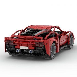 Mocbrickland Moc 58958 Ferrari F8 Tributo (7)