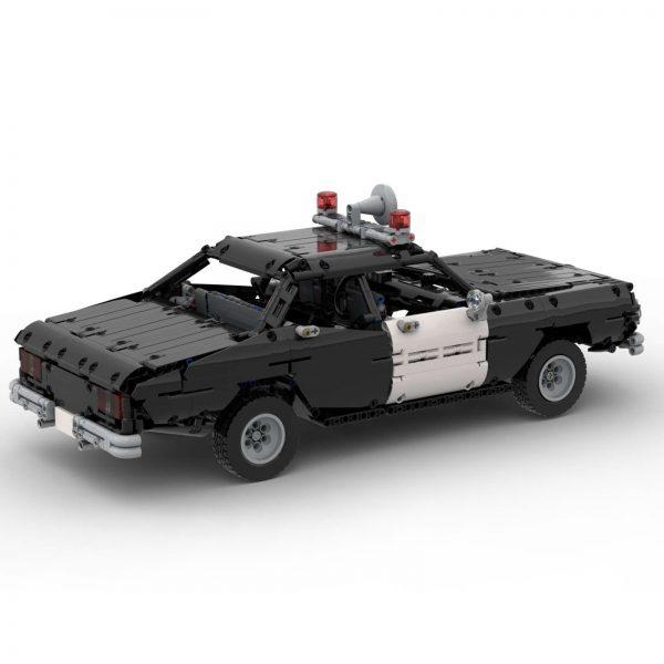 Mocbrickland Moc 63403 Classic Police Car (1)