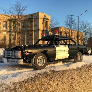 Mocbrickland Moc 63403 Classic Police Car (3)