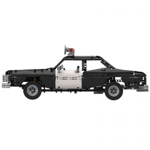 Mocbrickland Moc 63403 Classic Police Car (6)