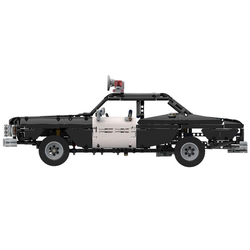 MOCBRICKLAND MOC-63403 Classic Police Car
