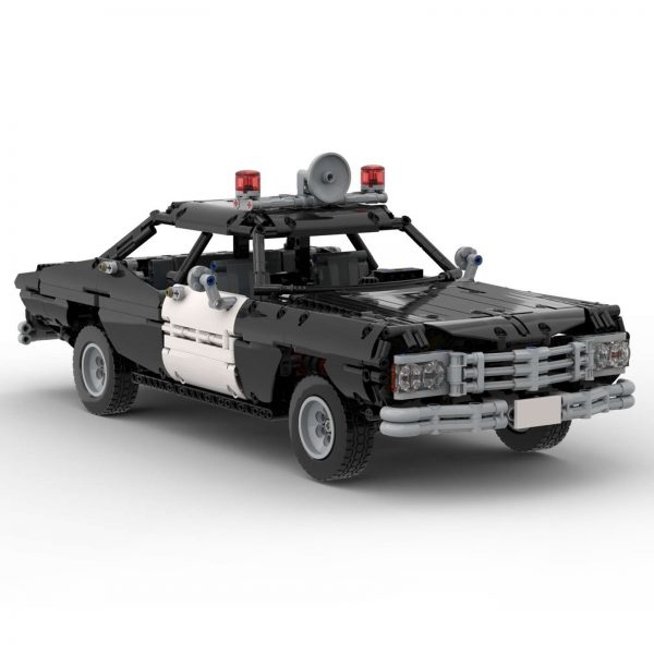 Mocbrickland Moc 63403 Classic Police Car (7)