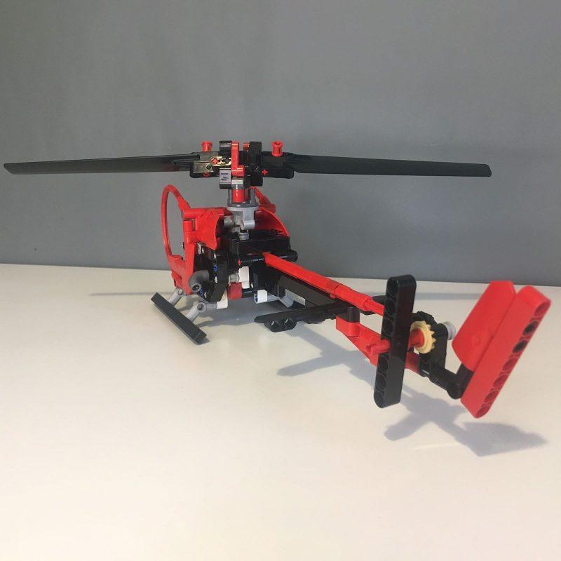 MOCBRICKLAND MOC-68779 Helicopter