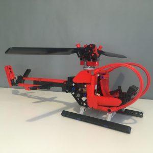 Mocbrickland Moc 68779 Helicopter (6)