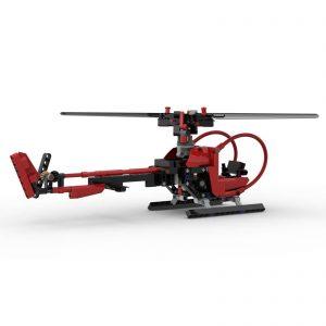 Mocbrickland Moc 68779 Helicopter (7)