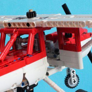 Mocbrickland Moc 7313 Gta Dodo Plane (cessna 152) (4)