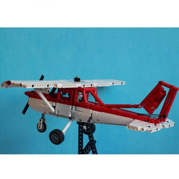 Mocbrickland Moc 7313 Gta Dodo Plane (cessna 152) (6)