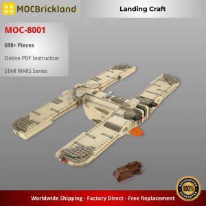 Mocbrickland Moc 8001 Landing Craft