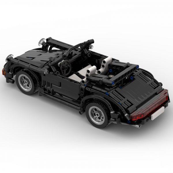 Mocbrickland Moc 8013 Porsche 964911 Cabriolet (6)
