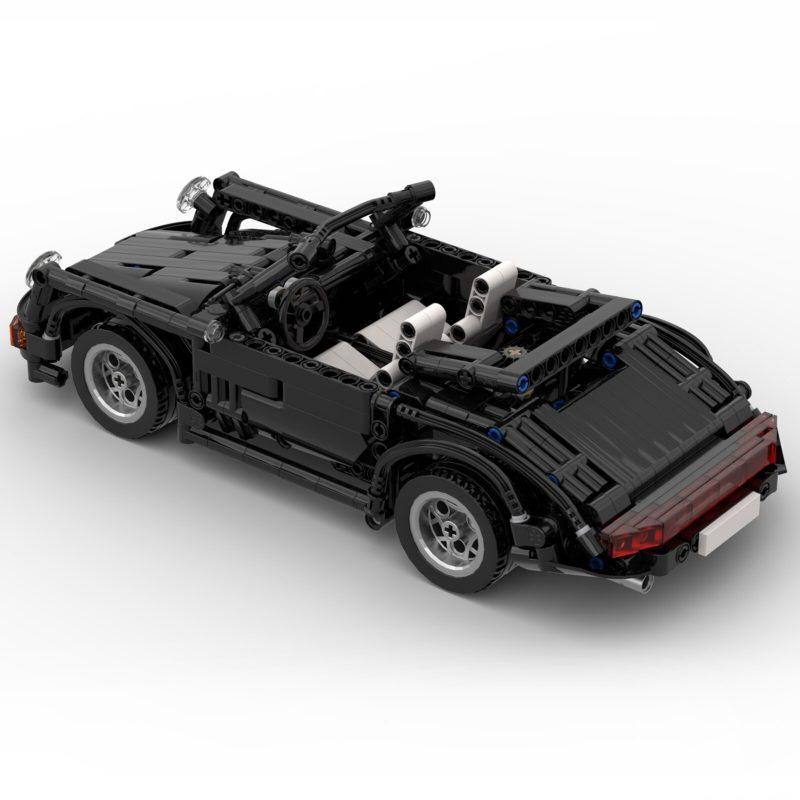 MOCBRICKLAND MOC-8013 Porsche 964/911 Cabriolet