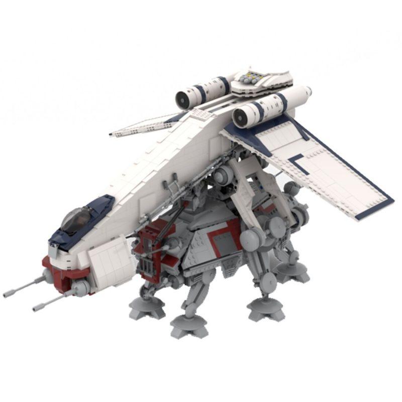 MOCBRICKLAND MOC-87849 AT-TE and Droopship